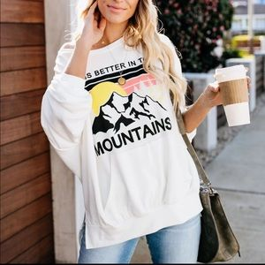 Life Is Better In The Mountains Sweater